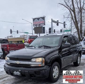 2002 Chevrolet TrailBlazer for sale at Corridor Motors in Cedar Rapids IA
