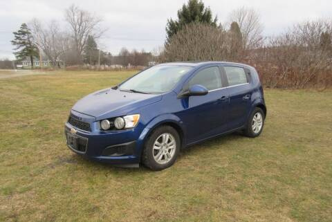 2013 Chevrolet Sonic for sale at Clearwater Motor Car in Jamestown NY