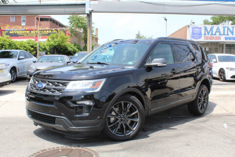 2019 Ford Explorer for sale at MIKEY AUTO INC in Hollis NY