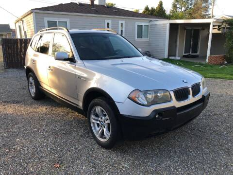 2004 BMW X3 for sale at KARMA AUTO SALES in Federal Way WA