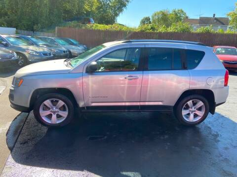2011 Jeep Compass for sale at North Hill Auto Sales in Akron OH