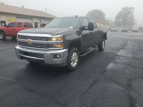 2015 Chevrolet Silverado 2500HD for sale at Bailey Family Auto Sales in Lincoln AR