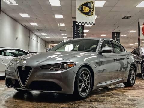 2018 Alfa Romeo Giulia for sale at FALCON AUTO BROKERS LLC in Orlando FL