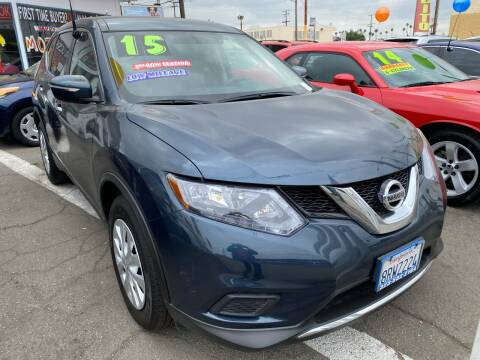 2015 Nissan Rogue for sale at CAR GENERATION CENTER, INC. in Los Angeles CA