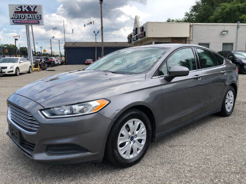 2014 Ford Fusion for sale at SKY AUTO SALES in Detroit MI