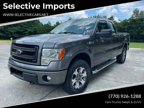 2013 Ford F-150 for sale at Selective Imports in Woodstock GA