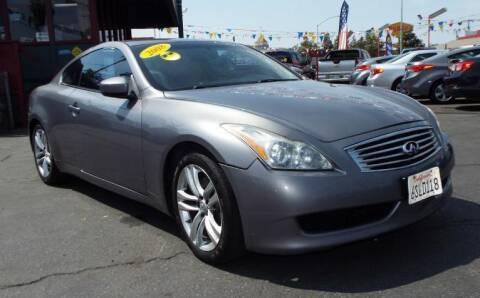 2008 Infiniti G37 for sale at 559 Motors in Fresno CA