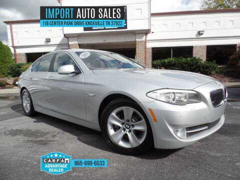2013 BMW 5 Series for sale at IMPORT AUTO SALES in Knoxville TN