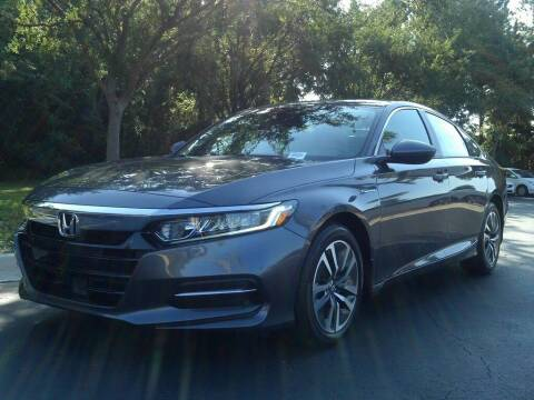 2020 Honda Accord Hybrid for sale at Honda of The Avenues in Jacksonville FL