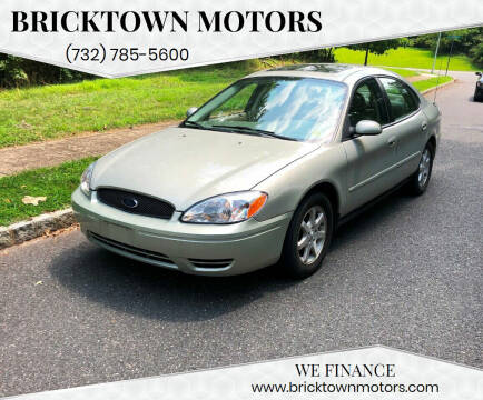 2007 Ford Taurus for sale at Bricktown Motors in Brick NJ