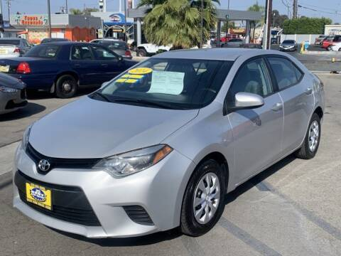 2014 Toyota Corolla for sale at Best Car Sales in South Gate CA