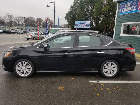 2013 Nissan Sentra for sale at Bridge Auto Group Corp in Salem MA