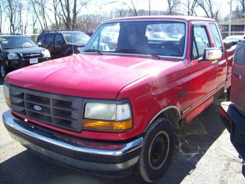 1995 Ford F-150 for sale at Collector Car Co in Zanesville OH