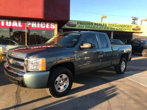 2008 Chevrolet Silverado 1500 for sale at Sanmiguel Motors in South Gate CA