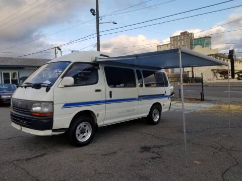 1995 Toyota Hiace for sale at JDM Car & Motorcycle LLC in Seattle WA