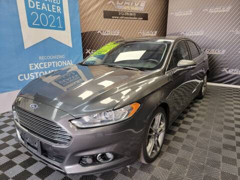 2015 Ford Fusion for sale at X Drive Auto Sales Inc. in Dearborn Heights MI