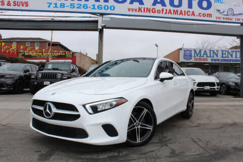 2019 Mercedes-Benz A-Class for sale at MIKEY AUTO INC in Hollis NY