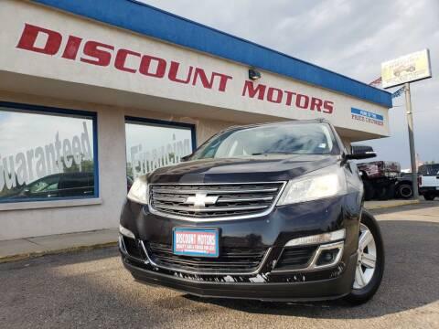 2014 Chevrolet Traverse for sale at Discount Motors in Pueblo CO
