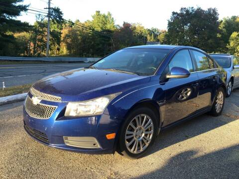 2012 Chevrolet Cruze for sale at Royal Crest Motors in Haverhill MA