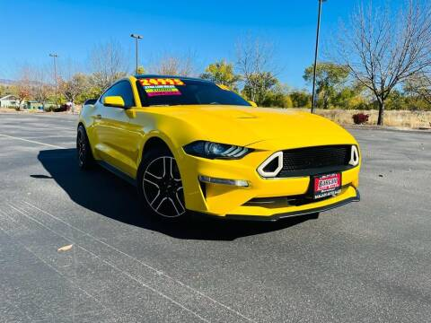 2018 Ford Mustang for sale at Bargain Auto Sales LLC in Garden City ID