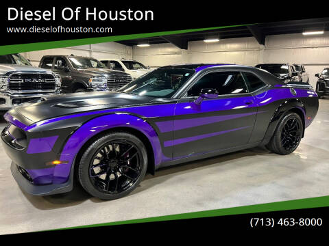 2019 Dodge Challenger for sale at Diesel Of Houston in Houston TX