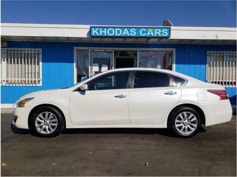 2014 Nissan Altima for sale at Khodas Cars in Gilroy CA