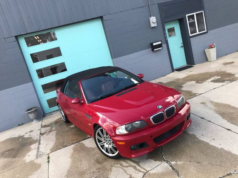 2002 BMW M3 for sale at Enthusiast Autohaus in Sheridan IN