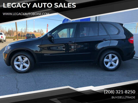 2010 BMW X5 for sale at LEGACY AUTO SALES in Boise ID