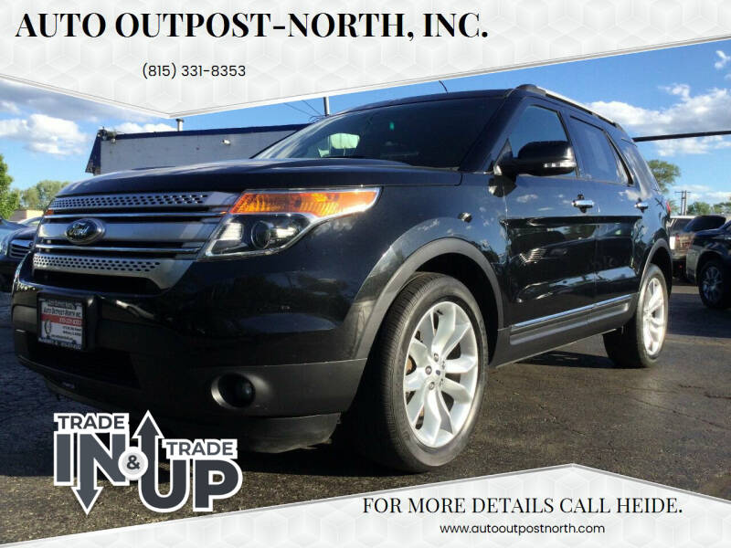 2015 Ford Explorer for sale at Auto Outpost-North, Inc. in McHenry IL