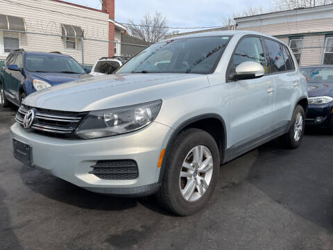2013 Volkswagen Tiguan for sale at Cypress Motors of Ridgewood in Ridgewood NY