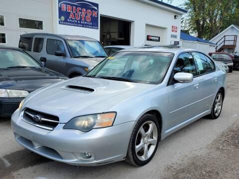 2005 Subaru Legacy for sale at Ericson Auto in Ankeny IA