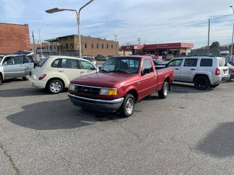 1994 Ford Ranger for sale at LINDER'S AUTO SALES in Gastonia NC