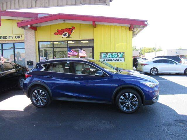 2017 Infiniti QX30 for sale at Cardinal Motors in Fairfield OH
