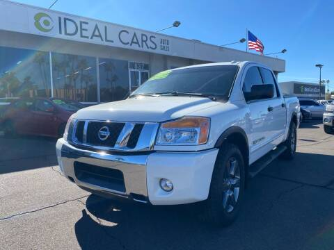 2015 Nissan Titan for sale at Ideal Cars East Main in Mesa AZ