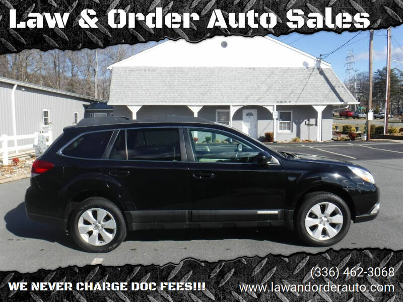2012 Subaru Outback for sale at Law & Order Auto Sales in Pilot Mountain NC