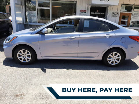 2012 Hyundai Accent for sale at All Star Auto Sales of Raleigh Inc. in Raleigh NC