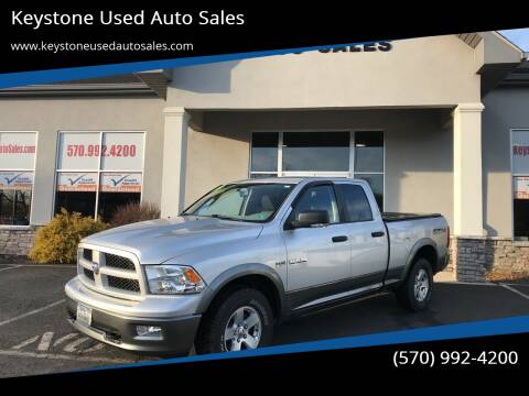 2009 Dodge Ram Pickup 1500 for sale at Keystone Used Auto Sales in Brodheadsville PA