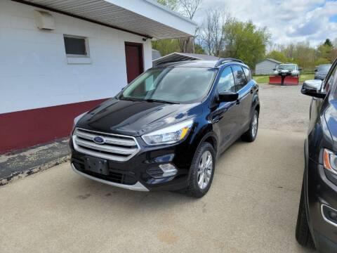 2018 Ford Escape for sale at Clare Auto Sales, Inc. in Clare MI