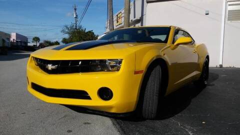 2012 Chevrolet Camaro for sale at AUTO BENZ USA in Fort Lauderdale FL