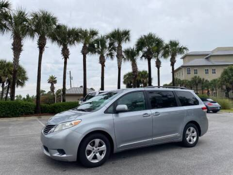 2012 Toyota Sienna for sale at Gulf Financial Solutions Inc DBA GFS Autos in Panama City Beach FL