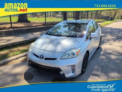 2015 Toyota Prius for sale at Amazon Autos in Houston TX