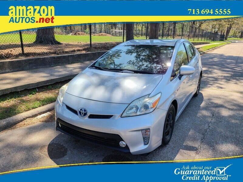 2015 Toyota Prius for sale at Amazon Autos in Houston TX