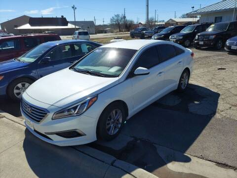 2017 Hyundai Sonata for sale at Bourbon County Cars in Fort Scott KS