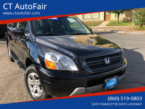 2005 Honda Pilot for sale at CT AutoFair in West Hartford CT