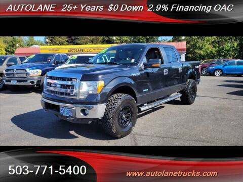 2013 Ford F-150 for sale at Auto Lane in Portland OR