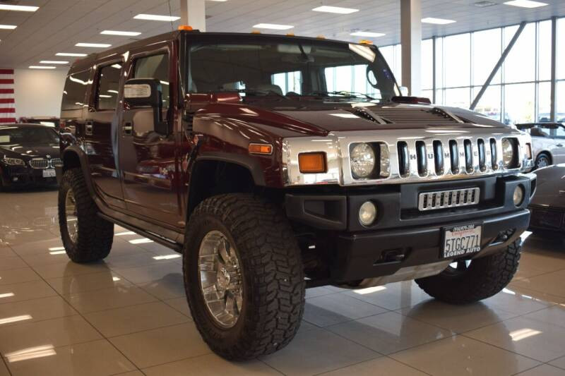 2006 HUMMER H2 for sale at Legend Auto in Sacramento CA