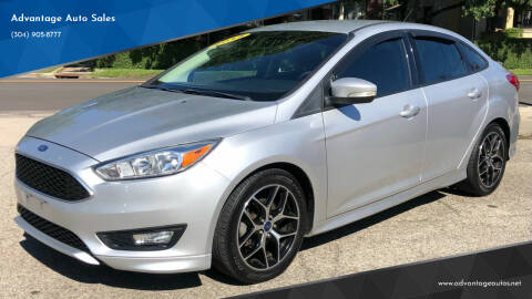 2015 Ford Focus for sale at Advantage Auto Sales in Wheeling WV