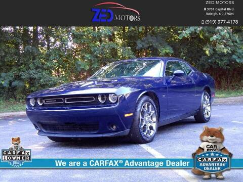 2017 Dodge Challenger for sale at Zed Motors in Raleigh NC