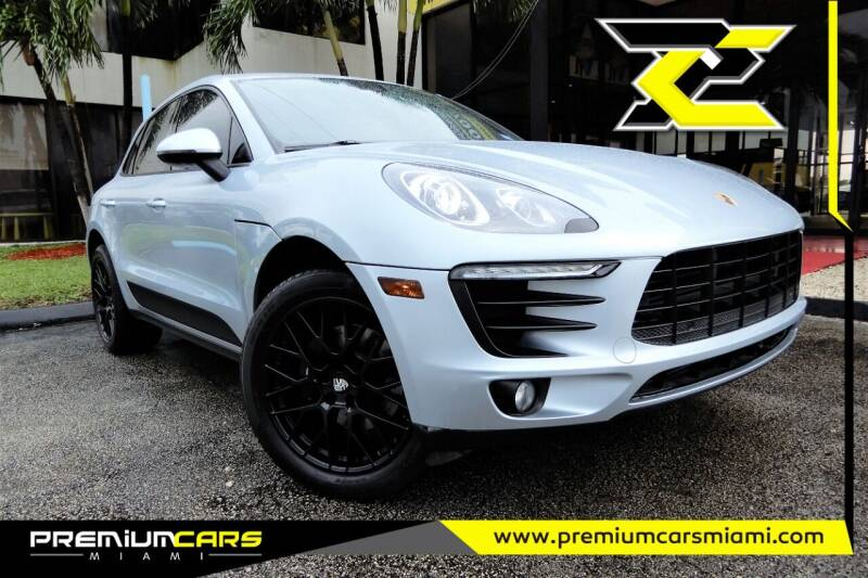 2017 Porsche Macan for sale at Premium Cars of Miami in Miami FL