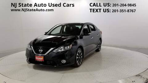 2019 Nissan Sentra for sale at NJ State Auto Auction in Jersey City NJ